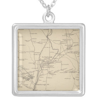 Peterborough, Hillsborough Co Silver Plated Necklace