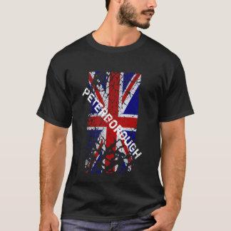 Peterborough Vintage Peeling Paint Union Jack Flag T-Shirt