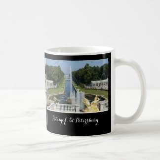 Petergof St.Petersburg, Russia - personalized text Coffee Mug