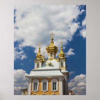 Peterhof, Grand Palace, chapel wing 2 Poster