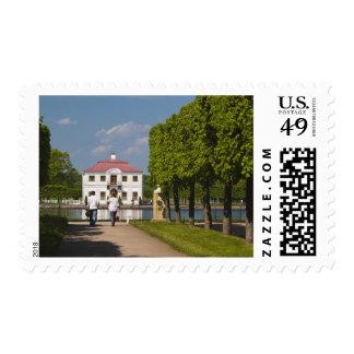 Peterhof, Marlinsky Pond and Marly Palace 2 Postage