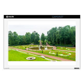 "Peterhof Palace and Gardens St. Petersburg Russia 17"" Laptop Decals"