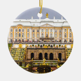 Peterhof Palace and Gardens St. Petersburg Russia Ceramic Ornament