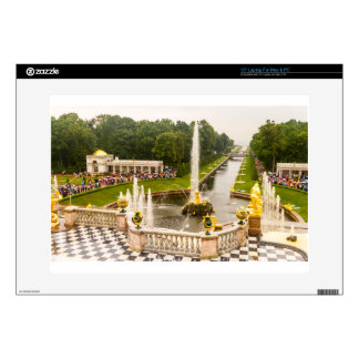 """Peterhof Palace and Gardens St. Petersburg Russia Decal For 15"""" Laptop"""