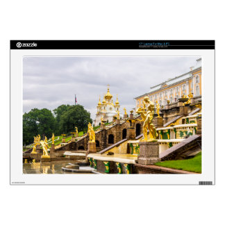 Peterhof Palace and Gardens St. Petersburg Russia Laptop Decals