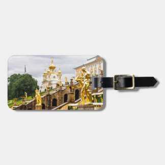 Peterhof Palace and Gardens St. Petersburg Russia Luggage Tag