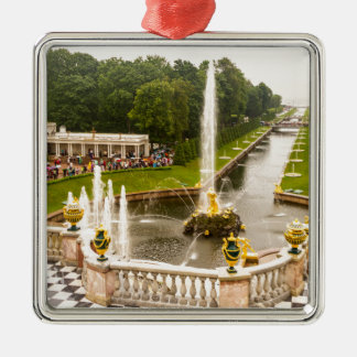 Peterhof Palace and Gardens St. Petersburg Russia Metal Ornament