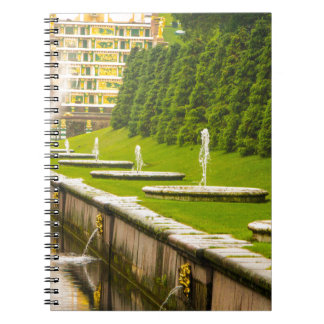 Peterhof Palace and Gardens St. Petersburg Russia Notebook
