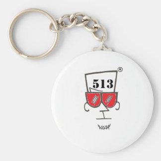 PeterParker513 Store Basic Round Button Keychain