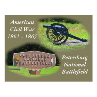 Petersberg National Battlefield Postcard