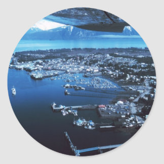Petersburg Alaska Classic Round Sticker