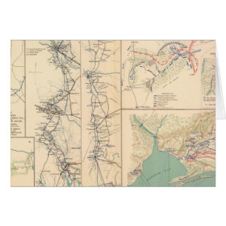 Petersburg environs Bentonville Carolinas Card