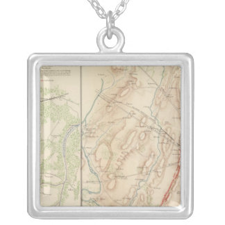 Petersburg, Gettysburg Silver Plated Necklace