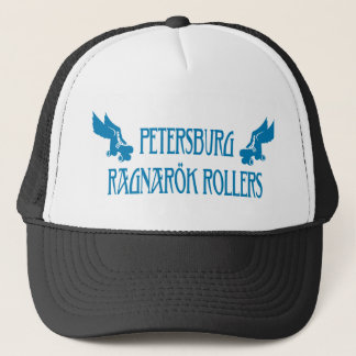 Petersburg Ragnarok Rollers Trucker Hat Blue