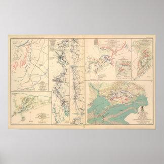 Petersburgo rodea Bentonville Carolinas Impresiones