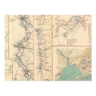Petersburgo rodea Bentonville Carolinas Postales