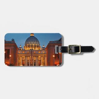 Petersdom en Roma - Italia Etiqueta Para Equipaje