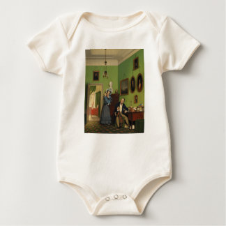 Petersen Family Balance by Wilhelm Ferdinand Bendz Baby Bodysuit