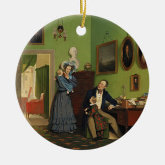 Petersen Family Balance by Wilhelm Ferdinand Bendz Ceramic Ornament
