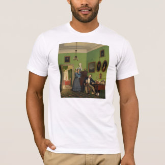 Petersen Family Balance by Wilhelm Ferdinand Bendz T-Shirt