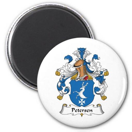 Petersen Family Crest Fridge Magnet