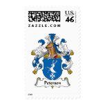 Petersen Family Crest Postage Stamp