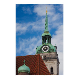 Peterskirche Church Tower Poster