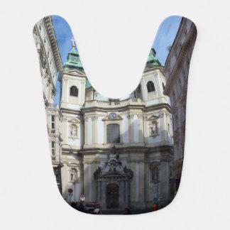 Peterskirche Wien Österreich Baby Bib