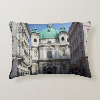 Peterskirche Wien Österreich Cojín Decorativo