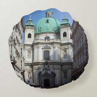 Peterskirche Wien Österreich Cojín Redondo