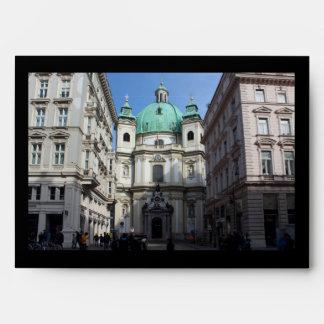 Peterskirche Wien Österreich Envelope