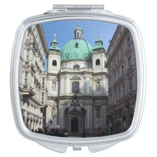 Peterskirche Wien Österreich Espejos Para El Bolso