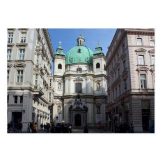 Peterskirche Wien Österreich Large Business Card