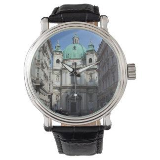 Peterskirche Wien Österreich Reloj De Mano