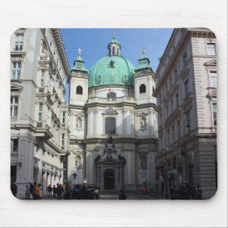 Peterskirche Wien Österreich Tapetes De Raton