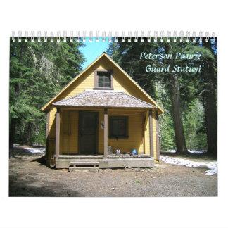 Peterson Prairie Guard Station Memorial RIP Calendar