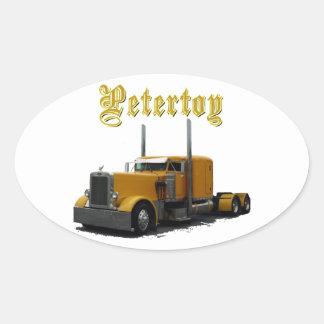 Petertoy Oval Sticker