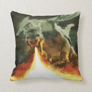 Pete's Dragon | Fire-Breathing Cool Throw Pillow