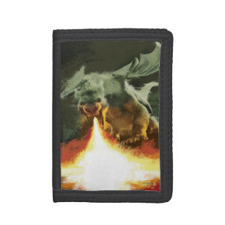 Pete's Dragon | Fire-Breathing Cool Tri-fold Wallets