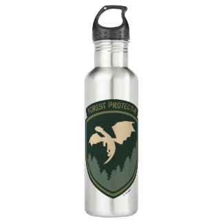 Pete's Dragon | Forest Protector Badge Stainless Steel Water Bottle