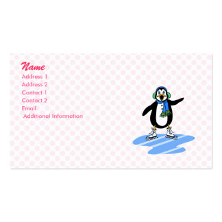Petey Penguin Business Card