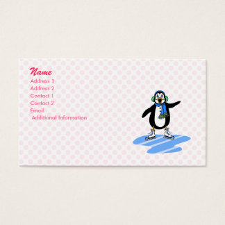 Petey Penguin Business Card