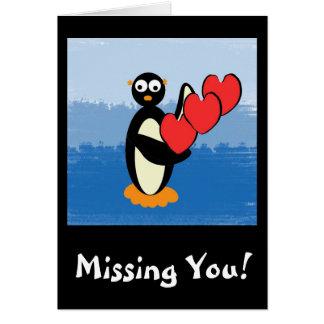 peteycarddesign, Missing You! Card