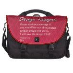 Petición del diseño de los bolsos del ordenador po bolsa para ordenador
