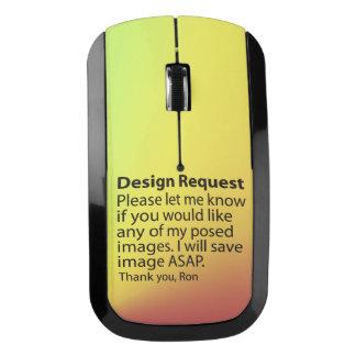 Petición del diseño ratón inalámbrico