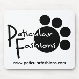 Peticular Fashions Logo Mouse Pad