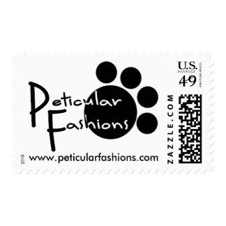 Peticular Fashions Logo Postage Stamp