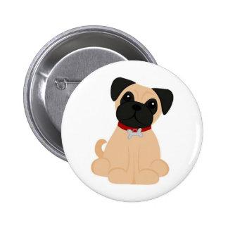 Peticular Fashions - Pug Button