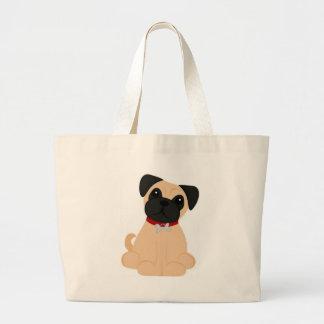 Peticular Fashions - Pug Large Tote Bag