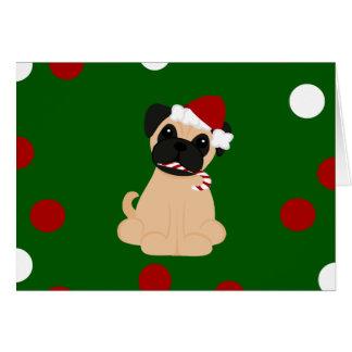 Peticularfashions.com Christmas Pug Card